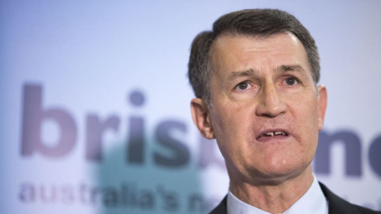Lord mayor Graham Quirk said the council received more than 4500 development applications in the past year.