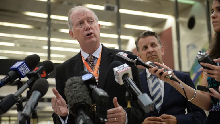 Sydney Trains chief executive Howard Collins says the services to be cut are mostly late at night or early in the morning.