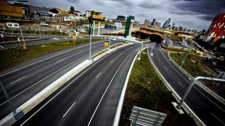 Brisbane's Clem7 toll road and tunnel.