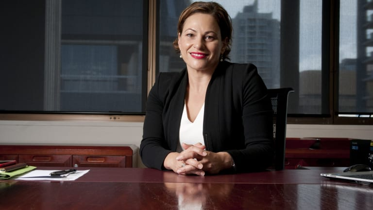 Deputy Premier Jackie Trad, the local MP, called the homophobic posters 'disgraceful'.