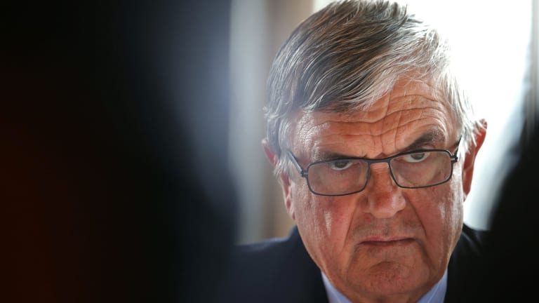 Family Court Chief Justice John Pascoe (pictured) sacked Justice Stephen Thackray as administrative head of the court's appeal division after his appointment to the top job in October.