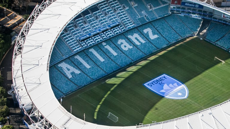 Allianz Stadium will be knocked down and rebuilt under NSW government plans.