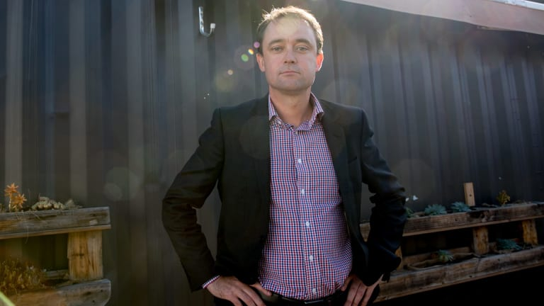 Scott Bacon, Labor's shadow treasurer in Tasmania, is a vocal opponent of poker machines in pubs and clubs.