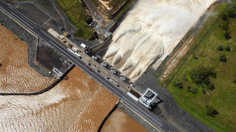 Wivenhoe Dam in Queensland.