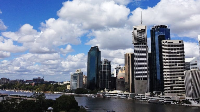 Brisbane represents about 48.8 per cent of Queensland's GDP.