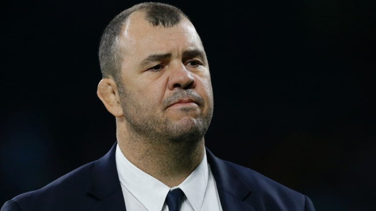Seat at the table: Wallabies coach Michael Cheika wants Australia to build better relationships on the world stage.