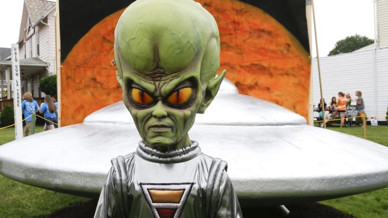 One in three Australians think we've been visited by aliens.
