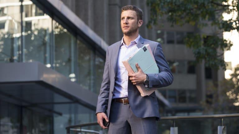 Maurice Blackburn Lawyers principal Josh Mennen.