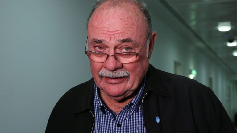 Warren Entsch at Parliament House in Canberra on Monday 7 August 2017. Fedpol. Photo: Andrew Meares