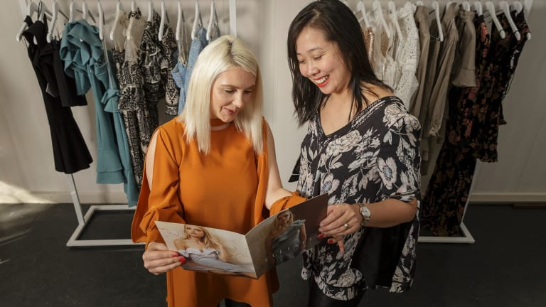 Elliatt co-founders Katie Pratt and Amy Li are targeting China's emerging middle-class .