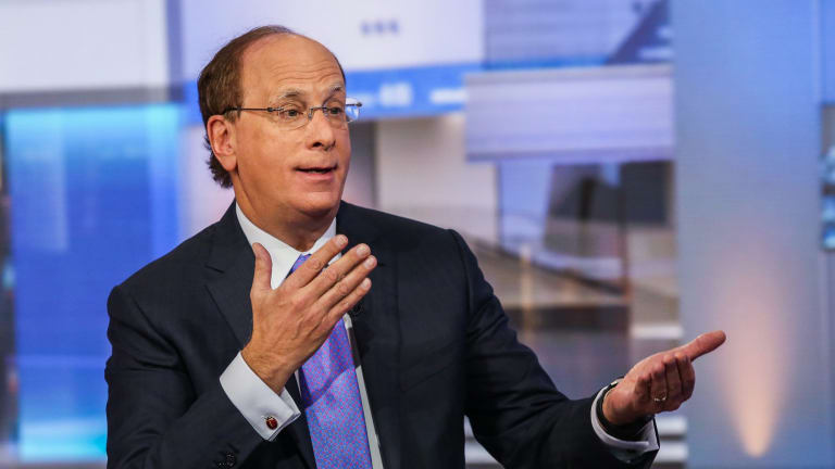 BlackRock chief Larry Fink said CEOs have to be mindful of creating diverse workforces and of their impact on society as a whole.