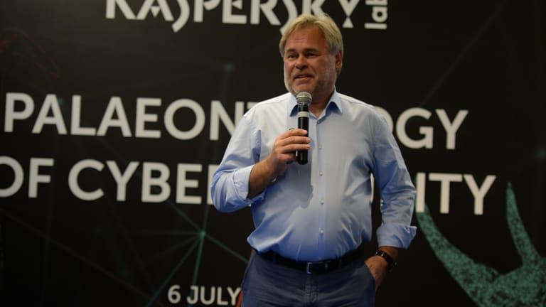 Eugene Kaspersky, CEO of Kaspersky Lab.