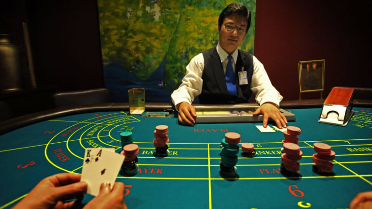 Baccarat is the game of choice for wealthy Asian gamblers.