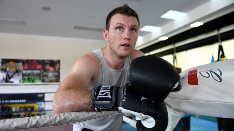 Underdog: Jeff Horn will be fighting for American respect when he takes on Terrance Crawford.