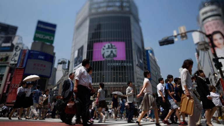 Japanese Prime Minister has proposed linking lower company taxes with higher wages.