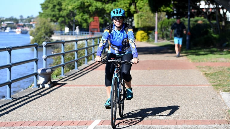 There is debate between council and the state government about mandatory helmet laws in Brisbane