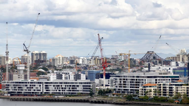 More than 8000 inner-city apartments are under construction and due for completion by 2020.