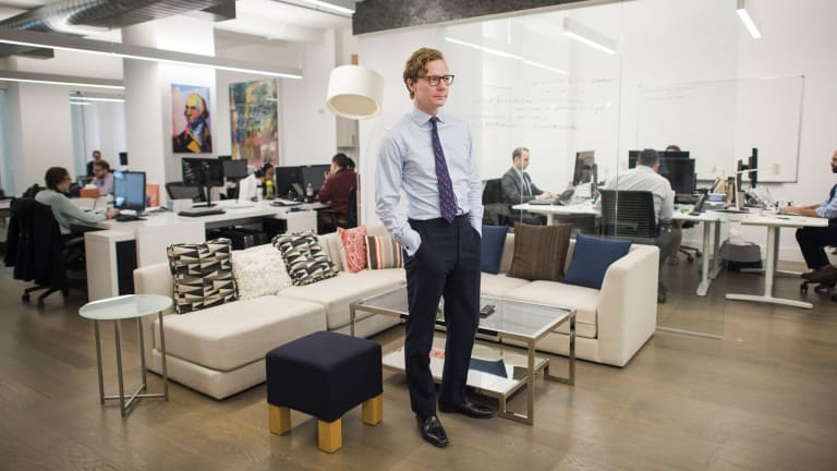 Cambridge Analytica chief executive Alexander Nix.