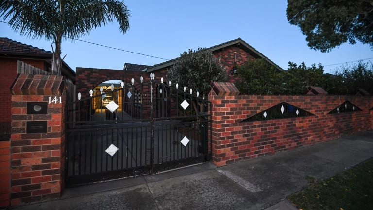 The couple's Sunshine West home.