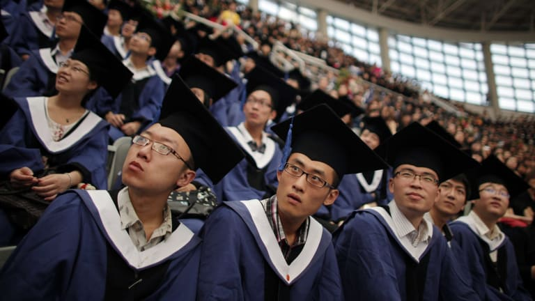 Chinese students are experiencing delays obtaining visas to study in Australia.