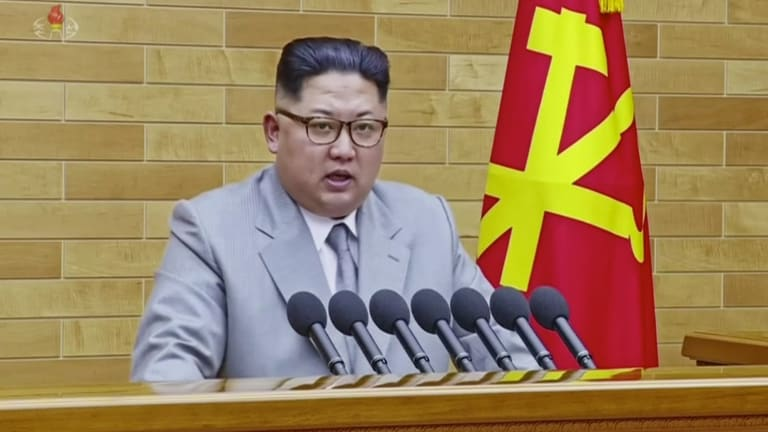 North Korean leader Kim Jong Un speaks in his annual New Year's Day address.