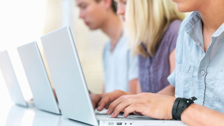 About 2600 students have sat the NSW government's new minimum standard online tests.
