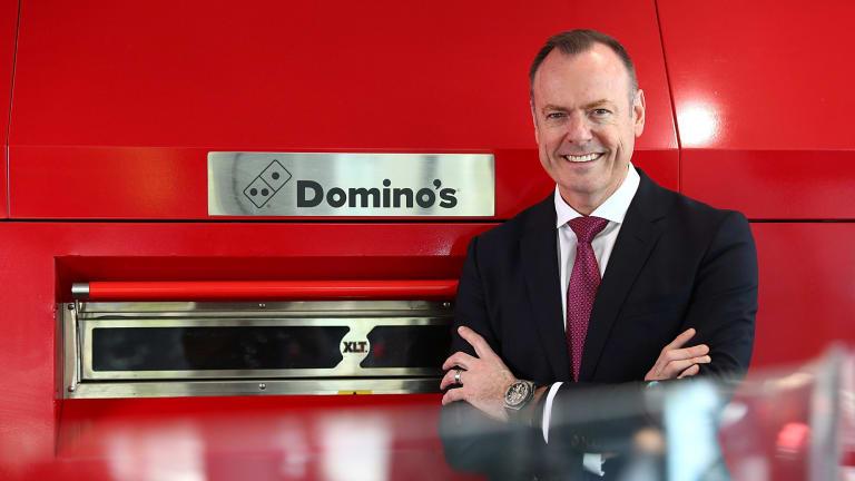 Domino's chief Don Meij.