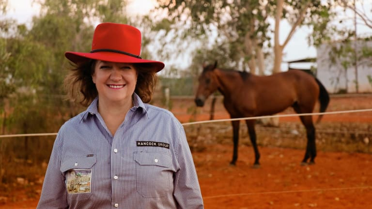 Gina Rinehart has paid tribute to family friend Lady Flo on her passing on Thursday.