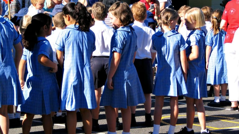 About 5 per cent of all classes across Queensland were over target in 2017.