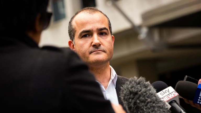 Emergency services minister James Merlino.