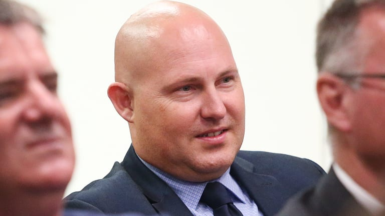 Treasurer Curtis Pitt was responsible for the hiring of executive Mark Algie for a $60,000 a year role.