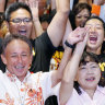 Japan's Abe suffers Okinawa election defeat over new US base