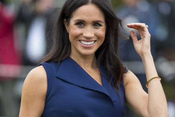 Navy is the new black: What Meghan Markle wore in Melbourne