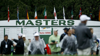 US Masters postponed in first interruption since WWII