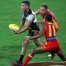 Port Adelaide's Tom Rockliff.