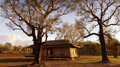 Glamping waits for no man in the Top End