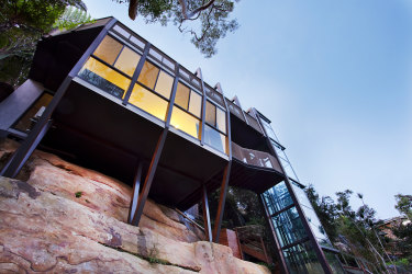 SHD NEWS. Writer: Josh Dye. Story: Australia's most popular Airbnbs. Treehouse, Grays Point NSW.
