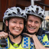 Braking the cycle: Perth's bike cops shift it up a gear in fight against crime