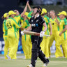 Perry's stunning fielding 'shows how far she's come'