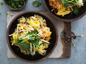 Kylie Kwong's vegetarian special fried rice (easily adapted for vegans, too)