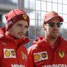 Vettel ahead of Hamilton for 2021: Ferrari