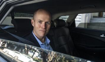 Uber Australia general manager Dom Taylor.
