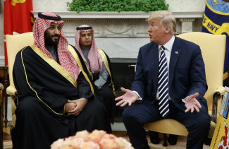 President Donald Trump and Saudi Crown Prince Mohammed bin Salman had breakfast together at the G20.