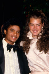 With Michael Jackson in 1981.