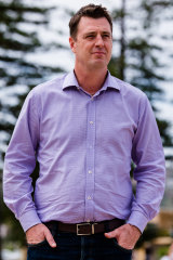"""Northern Beaches mayor Michael Regan previously said the sea wall was a """"wicked problem""""."""