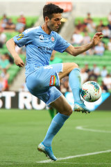 City's new signing Markel Susaeta.