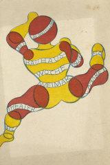 Georg Teltscher, Postcard for 'Bauhaus Exhibition Weimar 1923', Museum of Modern Art, New York.
