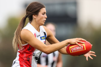 Georgia Patrikios is part of the new generation making their mark in the AFLW.