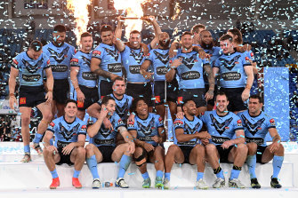 The Blues are bringing the shield back to NSW... but not a 3-0 series win.
