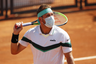 Tennys Sandgren tested positive for coronavirus in November, but was still shedding the virus in January - illustrating the sensitivity of some tests.